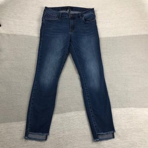STS blue Cassie skinny raw step hem jeans (29)